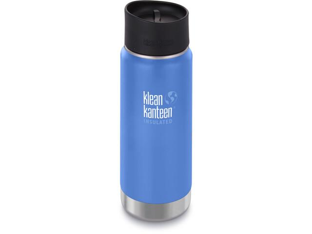 Klean Kanteen Wide Vacuum Insulated Gourde Bouchon Café 2.0 473ml, pacific sky